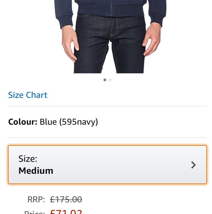 Hackett hoodie £71.02 @ Amazon