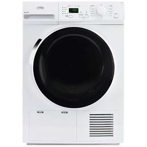 Belling FHD800 8kg A++ Heat Pump Condenser Tumble Dryer in White@Co-op electrical or @Currys