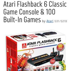 Atari flashback games console £49.99 Argos in stock