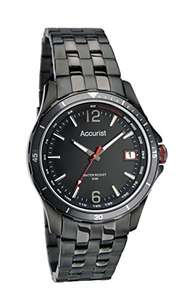 Accurist Men's Quartz Watch with Black Dial Analogue Display and Black Stainless Steel Bracelet MB1124B.01 £40.99 RRP £100.00 @ amazon