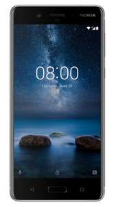 Nokia 8 Grey 8GB three Data Unlimited Minutes Unlimited Texts £25PM 24 months £600 @ mobile phones direct