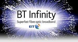 BT Infinity 1 for £29.99, 18 months contract. Total during term £599.81 - £125 reward card + TCB
