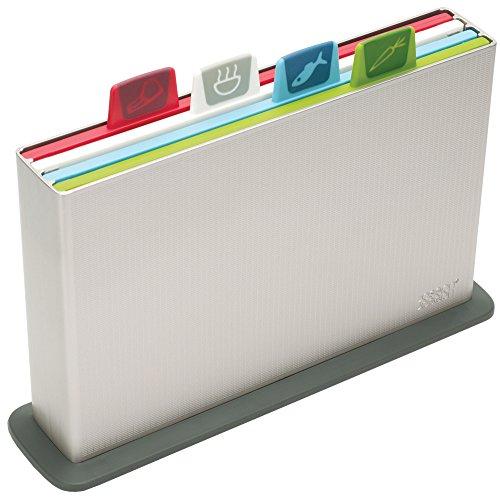 Joseph Joseph Index Chopping Board Set - Silver, Set of 4 (20 cm x 30 cm) - £30.00 @ Amazon