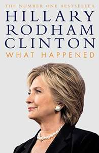 What Happened - Hardcover £7.99 prime / £10.98 non prime @ Amazon