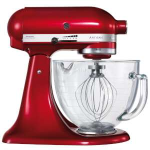 KitchenAid 175 Artisan 4.8L Stand Mixer, Candy Apple only £279.99 @ IWOOT