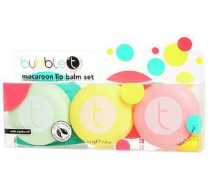 Bubble T Macaroon Lip Balm Trio £4.49 (Normally £5.99) @ Argos C&C