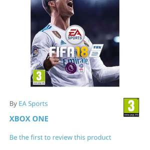 Fifa 18 on Xbox One £38.95 @ The game collection