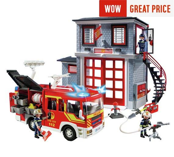 Playmobil City Action Fire Station Super Set £33.49 @ Argos (£26.79 wit FLASH20 voucher)