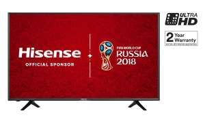 Hisense H50N5300 50 Inch 4K Ultra HD Smart TV - £379 @ Argos