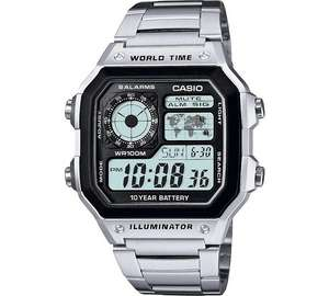 Casio Men's World Time Illuminator Watch Argos - £14.99 (C&C)