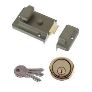 Yale Essentials Night Latch Green £5 with 2 Years Guarantee @ Wickes
