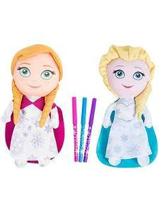 Disney Frozen Disney Frozen colour & Go Elsa & Anna Twin pack @very + free c&C