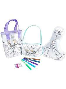 Disney Princess Disney Frozen 3 pack colour your own collection set @very free c&c - £7.99