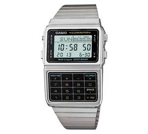 Casio Calculator Databank Watch, £24.99 from Argos