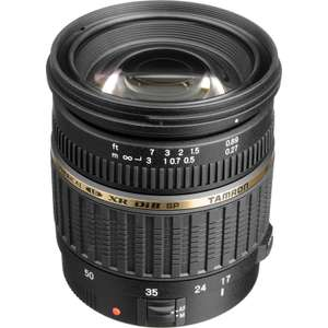 Tamron SP AF 17-50mm f/2.8 XR Di-II LD Lens - Nikon or Canon Mount  £139.00  eglobal central with code
