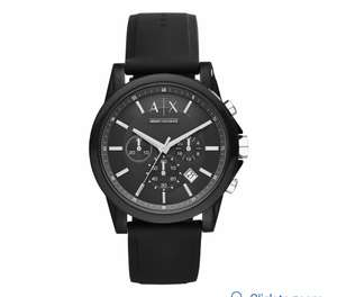 Armani Xchange black chronograph watch @ Argos - £74.99