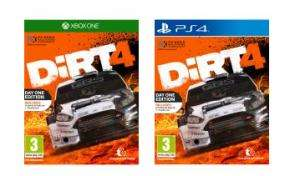 Dirt 4 PS4/Xbox Day One Edition  £19.99 @ Argos