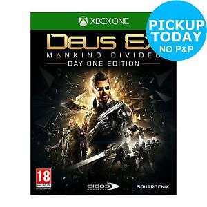 Deus Ex: Mankind Divided (Xbox One) £4.99 Delivered @ Argos / & via eBay