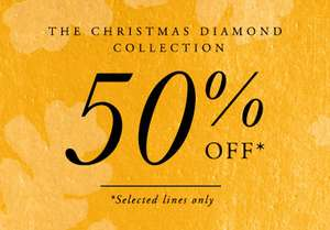 50% Off selected lines @ Goldsmiths - Plenty of great deals! + an Extra 10% OFF using code BF10