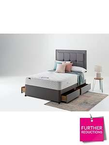 Silentnight M/C 3 Tuscany Geltex Comfort kingsize 4 Drw Divan other sizes available at discount £503 at VERY