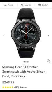 Samsung gear s3 frontier smart watch - £249.95 @ John Lewis