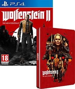[Xbox One/PS4] Wolfenstein II: The New Colossus + Steelbook Case - £29.99 (PC - £24.99) In-store/Online - Game (PS4/Xbox One Collectors Edition - £39.99)