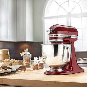 Kitchenaid Artisan 150 Stand Mixer in Red at John Lewis £279
