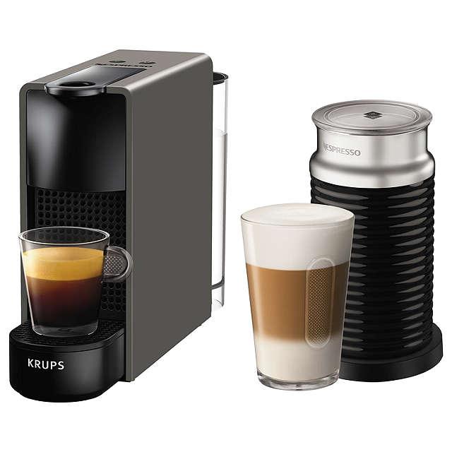 Nespresso Essenes Mini with Aeroccino - Grey £99.99 at John lewis