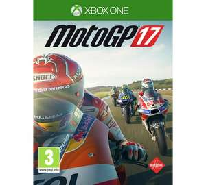 MotoGP 17 PS4 / Xbox One Was £39.99 now £23.99 @ Argos