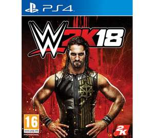wwe 2k18 ps4 and xbox one - £32.99 Argos