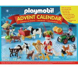 Playmobil 6624  Christmas on the farm advent calender - £14.99 @ Argos