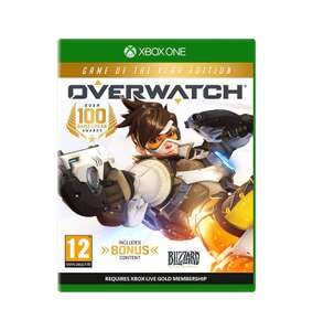 Overwatch Game of the Year Edition (Xbox One & PS4) £24.99 Delivered @ GAME