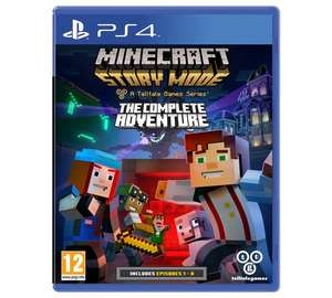 Minecraft Story Mode Complete Collection PS4 / Xbox one £14.99 @ Argos