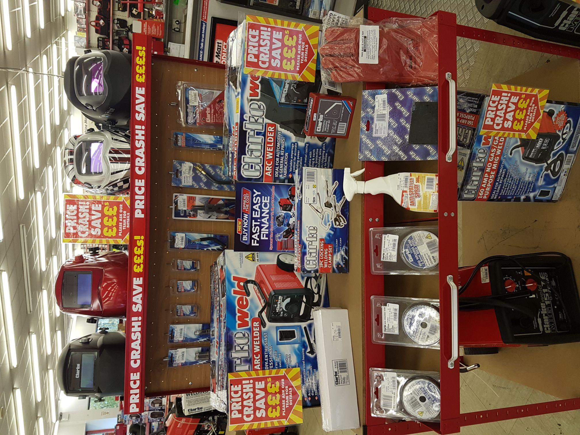 Welding sale machine mart from £5 instore