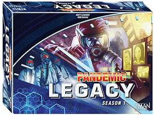 Pandemic Legacy Season 1 Box Board Game - Blue - £39.99 @ Sold by Top Choice UK and Fulfilled by Amazon.