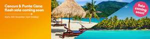 Thomas Cook Flash Sale - From Glasgow / Manchester - Punta Cana (Dominican Republic) from £300 Return PLUS Cancun from £330 Return! @ Thomas Cook Airlines