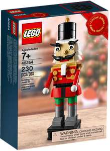 Heads up.....free Lego Nutcraker with orders over £60 at Lego Shop from 23/11/2017
