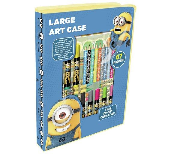 Half price -Despicable Me Large Art Case £2.49 @ Argos