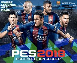 Pro evo 2018 Lite free on PSN/XBL & steam!