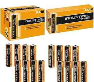 50 x Duracell AA Industrial Alkaline Batteries £14.99 Delivered @ ebay / color-pro