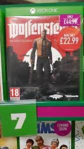 Wolfenstein 2 - Xbox One and PS4 - £22.99 - Instore only GAME - Bournmouth