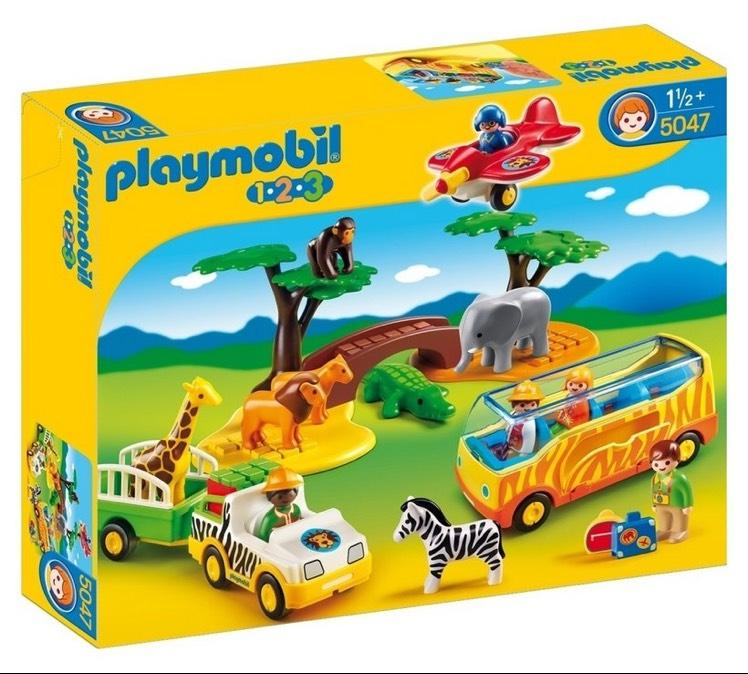 Playmobil 123 5047 safari set £19.99 - Argos