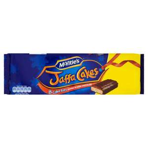 McVities Jaffa Cake Bars 8 Pack ONLY 50p @ Poundstretcher