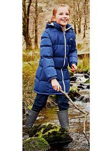 Trespass Navy Tiffy Padded Jacket sizes age 3 up to 10 years £12.74 @ Argos