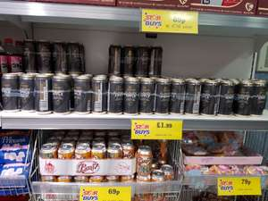 Strongbow Cloudy Apple 4 Pack 1.99 instore Home Bargains