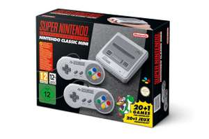 SNES Classic Mini in stock £75.11 at Amazon.fr
