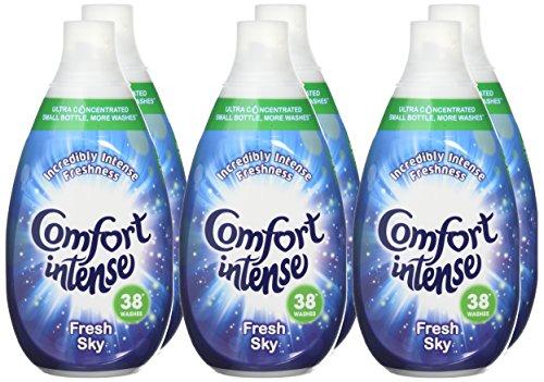 6 x 38 Wash Comfort Sky Fabric Softener delivered £12 prime / £16.75 non prime or £11.40 S&S Amazon