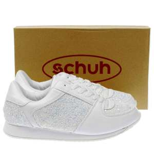 Schuh Ladies White Vision Trainers - Only £6.99! (C+C) or £9.99 delivered...save 80% at Schuh!