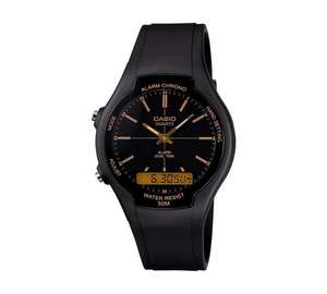 Casio Men's Black Combi Watch 25% OFF £14.99 @ Argos