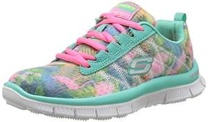 Size 12 UK Child Skechers Skech Appeal Floral Bloom, Girls' Multisport Outdoor Shoes £16.36@ Amazon